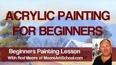 Easy Autumn Tree Landscape with Barn Acrylic Painting Tutorial for Beginners Acrylic Painting For Beginners, Simple Acrylic Paintings, Acrylic Painting Techniques, Beginner Painting, Painting Videos, Acrylic Art, Painting Pictures, Painting Courses, Acrylic Painting Tutorials
