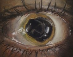 eye painting by damien cadio Painter, Illustration, Image, Painting, Imagery, Oil Painting, Weird Art, Portrait, Eye Painting