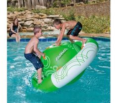 I think the Aviva Saturn Rocker would make a fun lake toy or pool toy. It's definitely on my wish list.