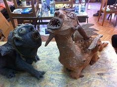 hYBRYDA Sculpture Ideas, Lion Sculpture, Statue, Art, Art Background, Kunst, Performing Arts, Sculptures, Sculpture