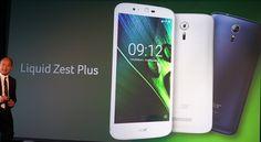 Acer Liquid Zest Plus, nuevo móvil presentado por Hacer que cuenta con una potente batería.   Por e...
