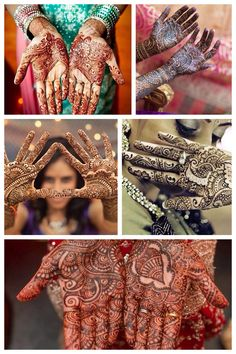 ॐ Mehndi, India. Mehndi is a symbolic representation of the outer and the inner… Tatoo Hindu, Art Indien, Bollywood Stars, Amazing India, India Culture, Times Of India, Saris, India Travel, Mehndi Designs
