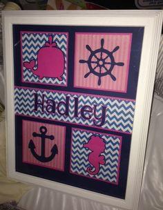 Luxury Nautical Nursery Girl