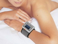 Shake and Wake Alarm--a wrist watch that vibrates and wakes you up so you can wear earplugs when you sleep!! Brilliant--I mean, I thought of it, but unfortunately (or fortunately) someone already invented it! :) $30