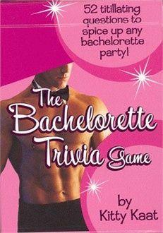 Bachelorette Party Games - Bachelorette Trivia Game