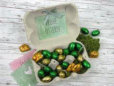 Kleines Ostergeschenk im Eierkarton - Gifts of love
