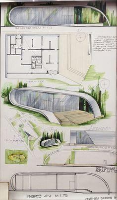 Architecture Design, Interior Architecture Drawing, Concept Models Architecture, Interior Design Renderings, Conceptual Architecture, Architecture Concept Diagram, Architecture Sketchbook, Architecture Portfolio, Sketches Arquitectura
