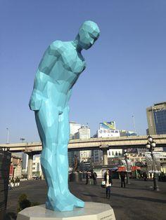 Seoul Plaza sculpture