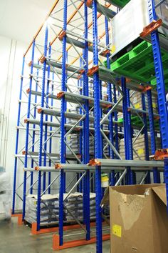 #Warehouse Storage   Drive-In #Racking System in Bedford...