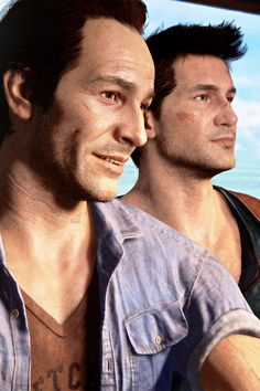 Uncharted 4 - Sam and Nathan