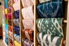 Ikat Fabrics by Brunschwig & Fils