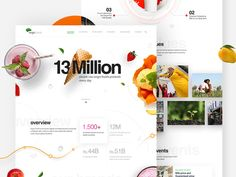 Engro Foods Landing Page Design Idea