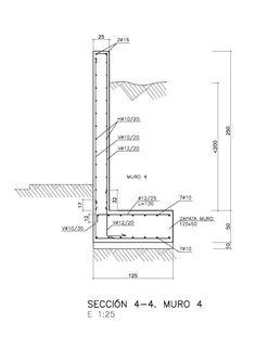 Concrete Block Retaining Wall, Retaining Wall Design, Concrete Bricks, Concrete Steps, Concrete Structure, Concrete Design, Retaining Wall Construction, Steel Frame Construction, Construction Drawings