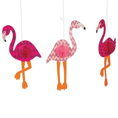 Whether throwing a Hawaiian beach bash for adults or kids beach party, step up your luau decorations with these colorful Jumbo Parrots. Hang several of these . Flamingo Birthday, Flamingo Party, 4th Birthday, Birthday Parties, Luau Party Decorations, Paper Decorations, Flamingo Decor, Pink Flamingos, Kids Beach Party