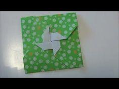 """お正月「ポチ袋」折り紙②New Year """"Poti bag"""" origami2 ***"""