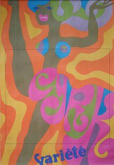 1968 CYRK Variété by Tadeusz Jodlowski by OutofCopenhagen on Etsy
