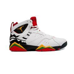 Air Jordan Shoes 7 Cheap Air Jordan 7 (VII) Retro Premio Men\u0026#39;s \u0026quot;Bin White Del Sol Bla