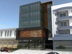 prédio comercial moderno 3 pavimentos - Pesquisa Google