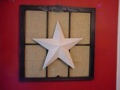 I wish I had an old window so I could make one of these!