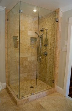 Glass Shower Doors Design Ideas, Pictures, Remodel, and Decor - page 17