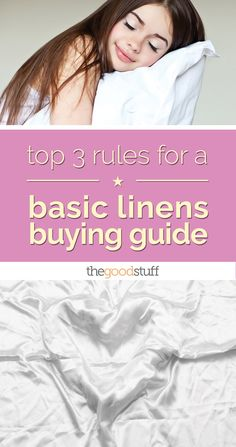 Top 3 Rules for a Basic Linens Buying Guide | thegoodstuff