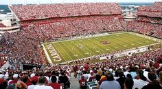Calling all College Footbal Fans! Columbia, SC is home to the South Carolina Gamecocks. Come tailgate at the stadium or visit your favorite local sports tavern and cheer along with us! Go Gamecocks!