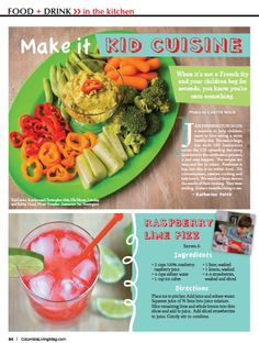 Thank you Columbia Living Magazine for featuring Healthy Hands Cooking in your May/June 2015 publication.