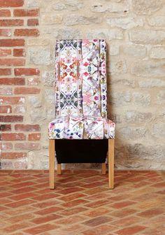 bonsoni mobel oak full back upholstered dining chair modena pack of two a
