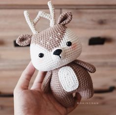 This is a PDF crochet pattern, not a finished doll. Silver Tabby Cat is written in ENGLISH - Size approx: inch). - Yarn: Sport or Dk light weight yarn. ( I used Yarn Art Jeans ) - Hook: Crochet Deer, Crochet Animal Amigurumi, Crochet Motifs, Crochet Animal Patterns, Stuffed Animal Patterns, Cute Crochet, Crochet Animals, Crochet Crafts, Crochet Dolls