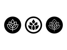 Hops designed by Kakha Kakhadzen for Leavingstone. Connect with them on Dribbble; the global community for designers and creative professionals. Beer Hops, Plant Logos, Christmas Ad, Symbol Logo, Cool Logo, Logo Inspiration, Logo Branding, Graphic Design, Creative
