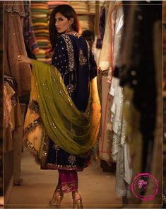 Pakistani Mehndi Dress, Pakistani Fancy Dresses, Pakistani Party Wear, Pakistani Wedding Outfits, Wedding Dresses For Girls, Pakistani Dress Design, Party Wear Dresses, Pakistani Clothing, Indian Outfits