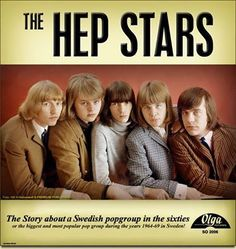 The Hep Stars (Olga).  Popular Swedish band of the 1960s including keyboardist Benny Anderson (fourth from left).  Towards the end of their career, the group was joined by Björn Ulvaeus who would form the songwriting partnership with Andersson that led to the formation of ABBA.