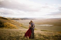 Fall Elopement in Colorado | Photo by Our Love is Loud