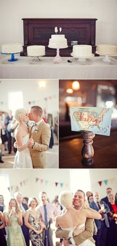 Texas Vintage Chic wedding - Nancy + Justin, featured on Style Me Pretty - planned by: The Simplifiers: Event Planning - Austin, TX (photo credit: The Nichols)