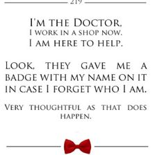 One of my favorite Doctor who quotes :) i saw it today...