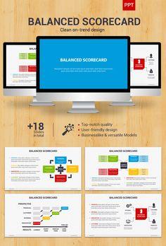 Project status powerpoint presentation template business balanced scorecard powerpoint on behance toneelgroepblik Image collections