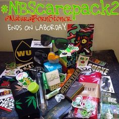 Want to win this awesome care package? Follow @naturalbornstoner for details! ✌️ PokeABowl.com - Clean Your Ash Hole®