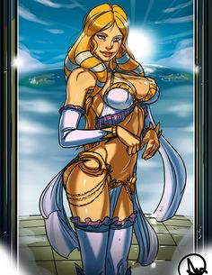 From the MOBA Smite here it come a commission of Aphrodite, Goddess of Beauty! Neith, the Weaver of Fate! Aphrodite, Female Characters, Anime Characters, Fictional Characters, Fan Art, Artistic Visions, Ecchi, Manga Pictures, Fantasy Girl