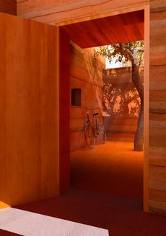 Who said rammed earth isn't gorgeous?