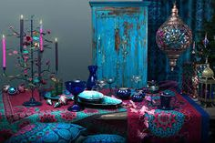 This blue and pink! i die. #Bohemian love affair