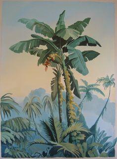bananier les Décors des Mers du Sud