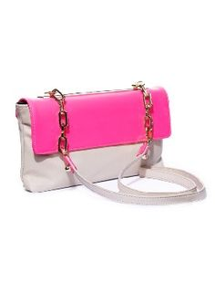 Great neon bag spotted by one of our favorite stores, @Beckley Boutique