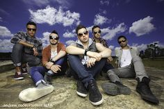 Cool band photo