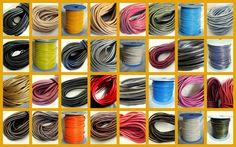 Varios modelos, colores y medidas de cuero legítimo de primera calidad. Venta por tramos.  www.aramixuno.com
