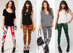 #WomensLeggings #BestWomenLeggings #LadiesTights #StylishLadiesTights #PrintedLeggings Coloured Leggings, Colorful Leggings, Fleece Leggings, Women's Leggings, 80s Fashion, Fashion Wear, Kenzo, Karl Lagerfeld, Tartan