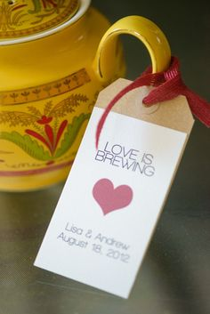 Love is Brewing - Tea Themed Bridal Shower