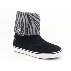 Etnies Lounge W's Boots Ankle Shoes Black Womens
