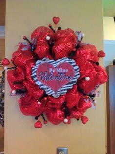 267 Best Valentine Wreaths Images Valentine Day Wreaths