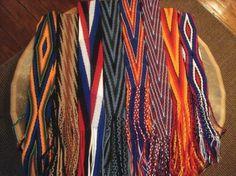 Cherokee Finger Weaving