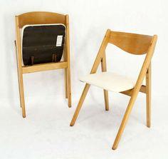 a vintage folding plywood chair buscar con google